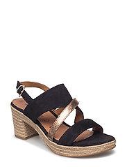 Woms Sandals - BLACK/BRONCE