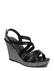 Woms Sandals - Selina - BLACK LEATHER