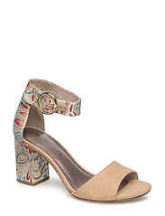 Woms Sandals - NUDE COMB