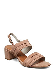 Woms Sandals - OLD ROSE SUEDE