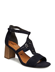 Woms Sandals - NAVY SUEDE