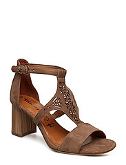 Woms Sandals - TAUPE SUEDE