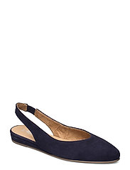 Woms Sling Back - NAVY