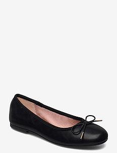 Woms Ballerina - ballerines - black matt