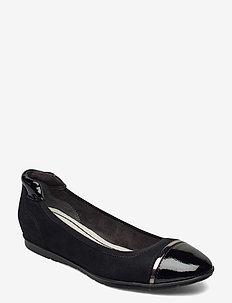 Woms Ballerina - ballerinas - black comb