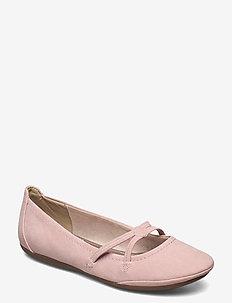 Woms Ballerina - ballerines - rose