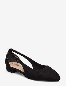 Woms Ballerina - ballerinat - black suede