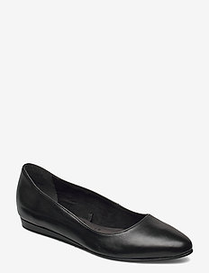 Woms Ballerina - ballerinas - black leather