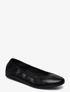 Woms Ballerina - ballerinas - black leather