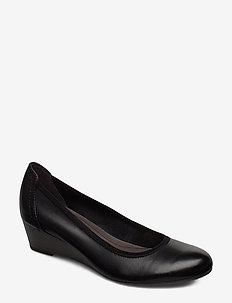 Woms Court Shoe - wedges - black
