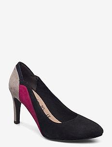 Woms Court Shoe - high heels - black comb
