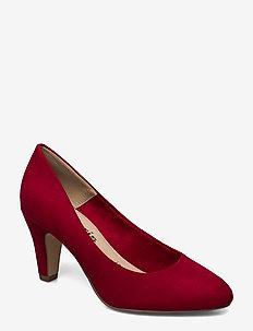 Woms Court Shoe - klassiske pumps - lipstick