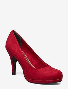 Woms Court Shoe - LIPSTICK