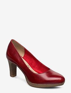 Woms Court Shoe - klassiske pumps - chili