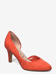 Woms Court Shoe - klassiske pumps - flame