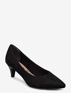 Woms Court Shoe - klassiset piikkikorkokengät - black