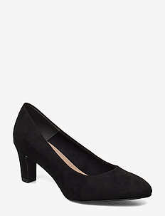 Woms Court Shoe - klassieke pumps - black