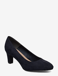 Woms Court Shoe - klassiske pumps - navy