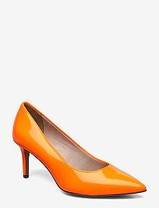 Woms Court Shoe - ORANGE NEON