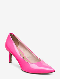 Woms Court Shoe - PINK NEON