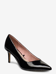 Woms Court Shoe - classic pumps - black patent