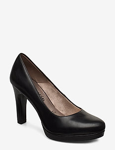 Woms Court Shoe - klassiske pumps - black matt