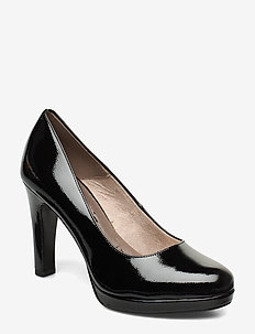 Woms Court Shoe - klassiske pumps - black patent