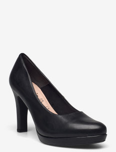 Woms Court Shoe - klassieke pumps - black matt