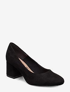 Woms Court Shoe - BLACK