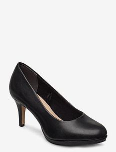 Woms Court Shoe - classic pumps - black matt