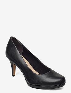 Woms Court Shoe - klassiske pumps - black matt