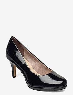Woms Court Shoe - klassiske pumps - black patent