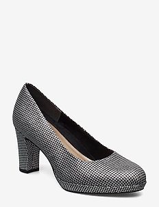 Woms Court Shoe - PLAT.GLAM STR.
