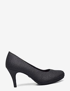 Woms Court Shoe - klassiska pumps - black glam