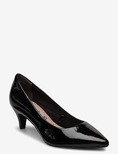 Woms Court Shoe - classic pumps - black patent