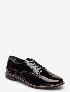 Woms Lace-up - chaussures à lacets - black patent