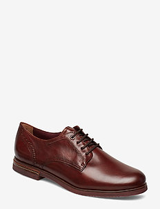 Woms Lace-up - CHESTNUT