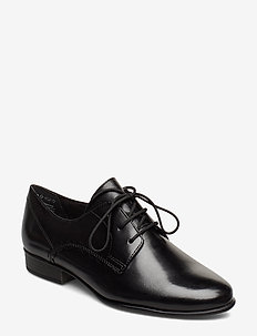 Woms Lace-up - laced shoes - black leather
