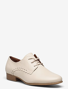 Woms Lace-up - schnürschuhe - cream leather