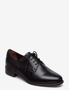 Woms Lace-up - chaussures à lacets - black leather
