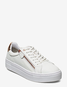 Woms Lace-up - sneakers med lav ankel - wht/rose gold
