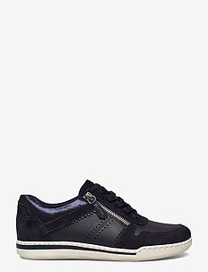 Woms Lace-up - lave sneakers - navy comb