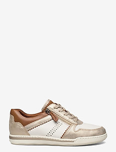 Woms Lace-up - lave sneakers - wht/gold comb