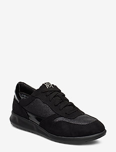 Woms Lace-up - sneakers med lav ankel - black glam