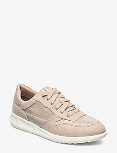 Woms Lace-up - sneakers med lav ankel - ivory str.comb