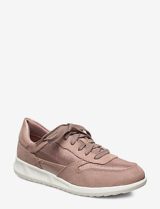Woms Lace-up - sneakers med lav ankel - old rose