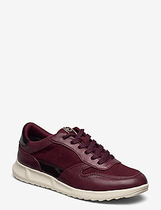 Woms Lace-up - sneakers med lav ankel - merlot