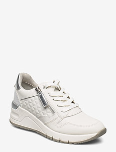 Woms Lace-up - matalavartiset tennarit - white leather