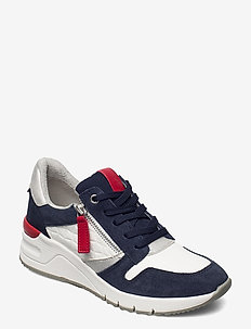 Woms Lace-up - lage sneakers - white/navy com