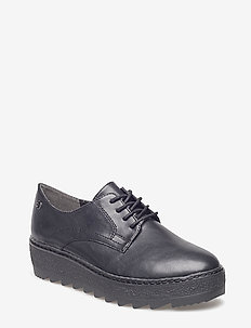 Woms Lace-up - BLACK MATT UNI